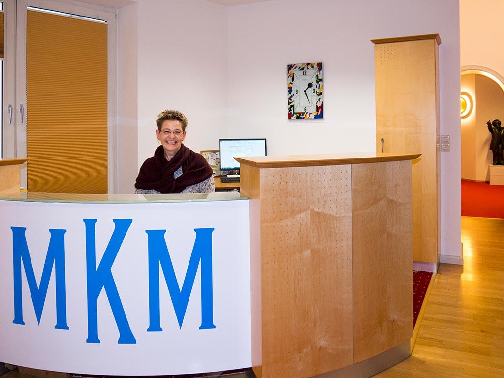 Empfangsbereich MKM Rechtsanwälte Weiden